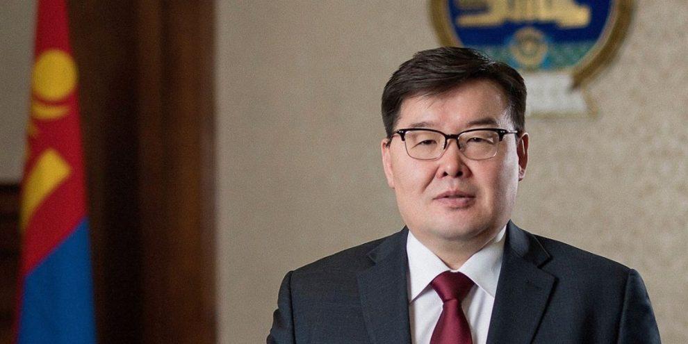 Председатель Великого Государственного хурала Монголии Г.Занданшатар