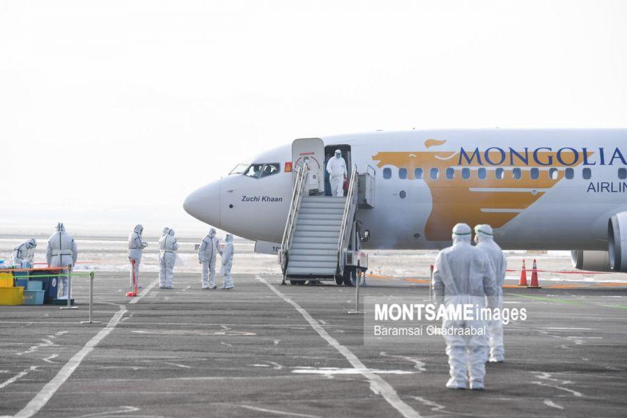 В Улан-Баторе приземлится самолет из Японии с монгольскими гражданами на борту