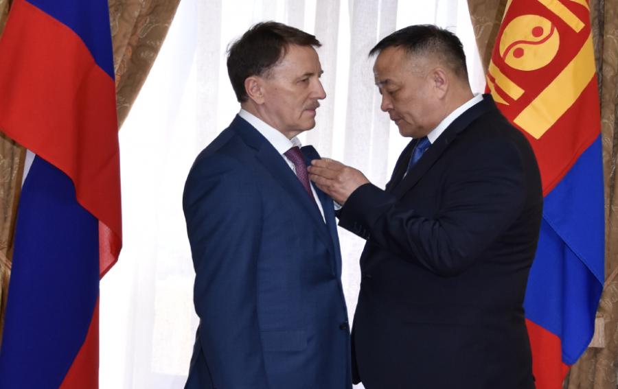 А.В.Гордееву вручили Орден Трудового Красного Знамени