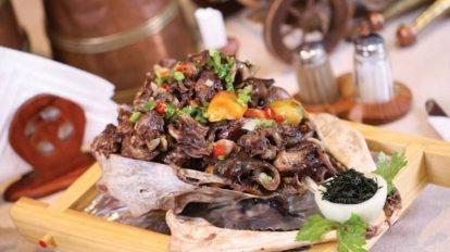 Монгольская традиционная кухня в современном исполнении