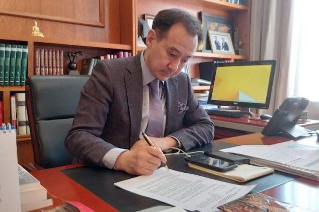МИД Монголии и Германии провели беседу по телефонной линии
