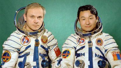 39-летие полета в космос монгольского космонавта