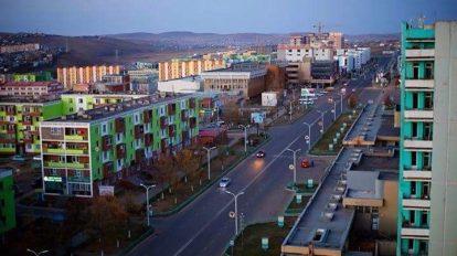 Землетрясение в Монголии в аймаке Орхон