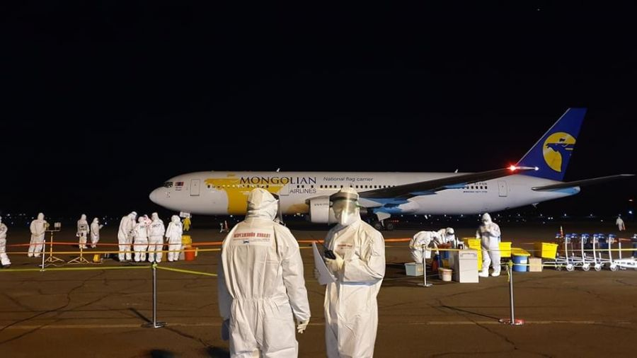 Из Республики Корея на родину прибыл 261 гражданин